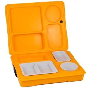 Термоподнос с замком и комплектом посуды с крышками Menu Mobile - 1