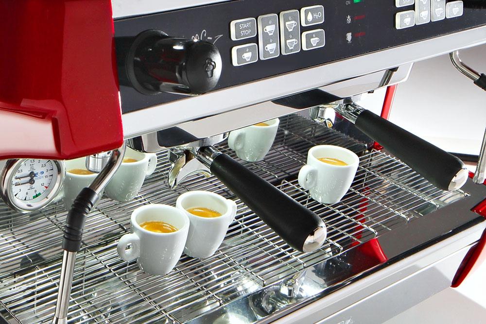 Кофемашина автоматическая двухпостовая MC1-2A - 1