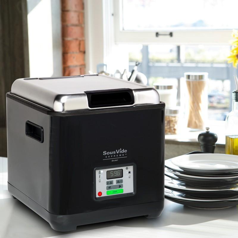 Прибор для приготовления SOUS VIDE SVS-09L+Вакуумный упаковщик  Conservando+Гофрированные пакеты для приготовления в вакууме 15х30см 100шт - 3