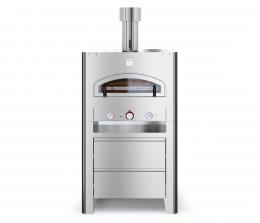 Печь на газу для пиццы QUBO 90 с подставкой BFQB90-INX (LPG/methane)