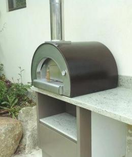 Дровяная печь для пиццы 5 MINUTI (настольная)