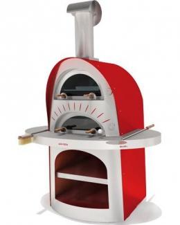 Дровяная печь для пиццы Duetto