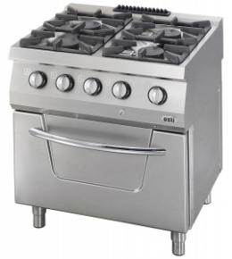 Плита газовая с духовкой OSOGF 8070