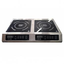 Плита индукционная 2-х конфорочная 3,5 кВт настольная