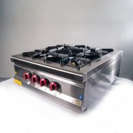 Плита 4-х конфорочная настольная с газовым контроллером МО15-4N