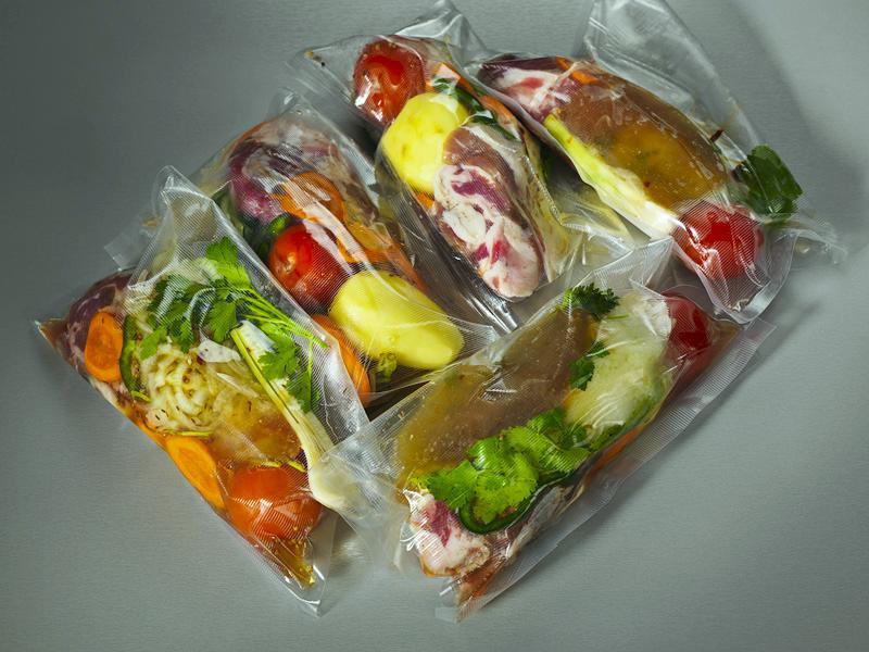 Гладкие пакеты для приготовления в вакууме 15х25см - 3