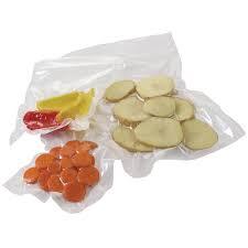 Гладкие пакеты 20х30см для вакуумной упаковки  70 мкм - 2