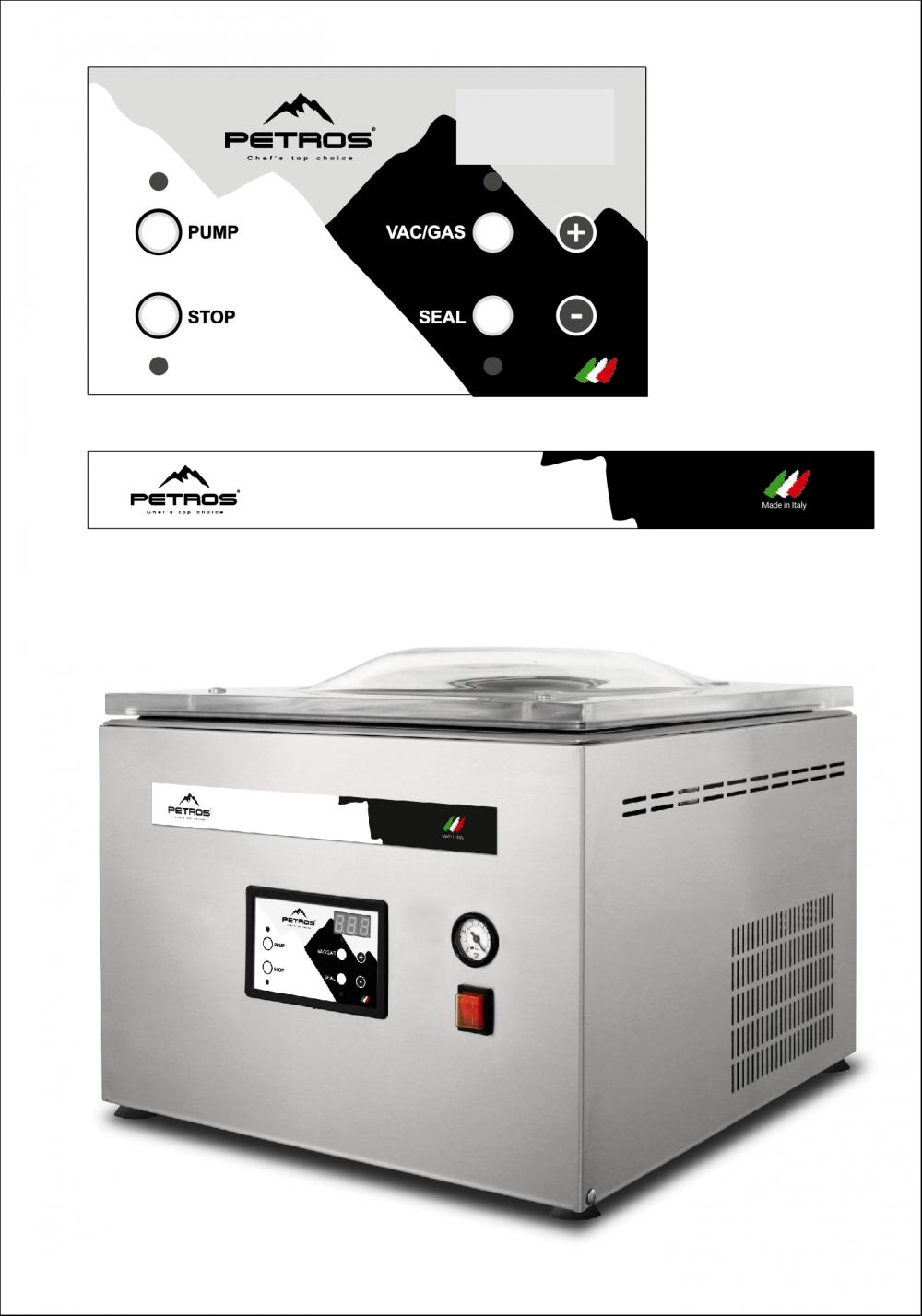 Вакуумный упаковщик С412 - 3