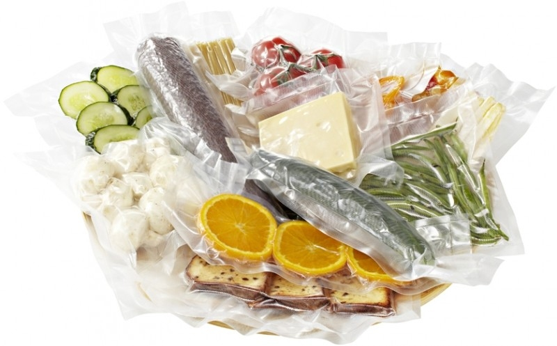 Гладкие пакеты 14х22.5 см для вакуумной упаковки Т10 - 1