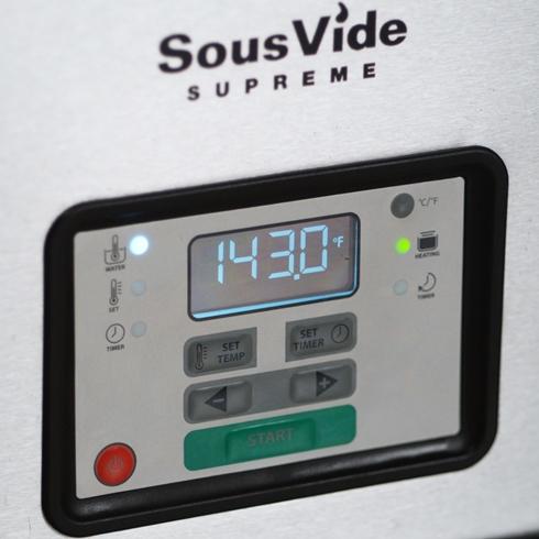 Прибор для приготовления SOUS VIDE SVS-10LS+Вакуумный упаковщик VS3000+Комплект гофрированных пакетов в рулоне   - 1
