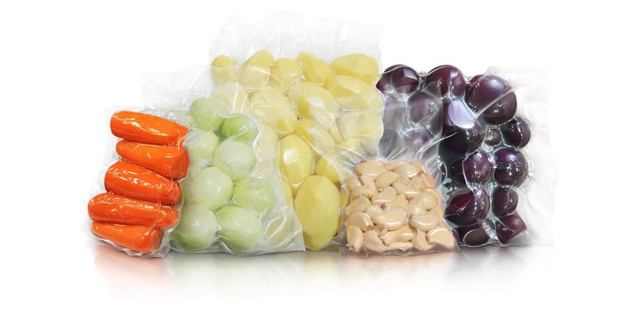 Гладкие пакеты 20х30см для вакуумной упаковки  70 мкм - 1