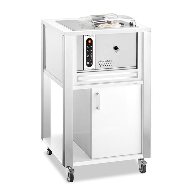 Машина для приготовления мороженого WHITE 5K T-MOBILE
