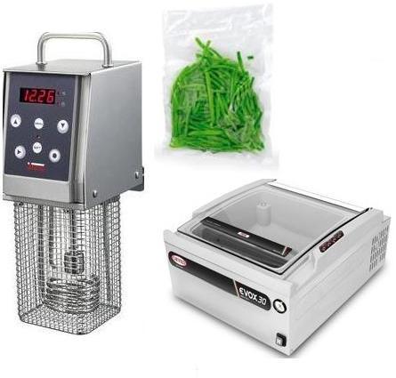 Softcooker Y09+EVOX 30 8 8mc/h+Гладкие пакеты для вакуумной упаковки 100 шт.