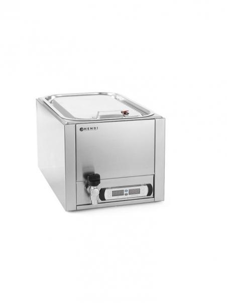 Прибор для приготовления при низкой температуре с краном для слива воды 225448