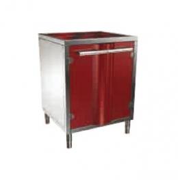 Закрытая подставка-шкаф S400 для угольной печи КОРА