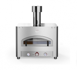 Печь на газу для пиццы QUBO 90 TOP настольная (LPG/methane)