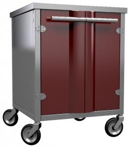 Закрытая подставка-шкаф S500 для угольной печи КОРА