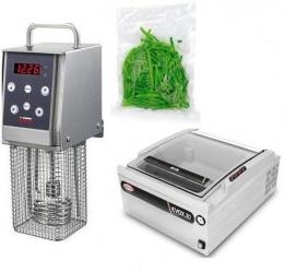 Softcooker Y09+EVOX 30 8 8mc/h+Гладкие пакеты для вакуумной упаковке 100 шт.
