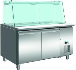 Холодильный стол с витриной SG 3070 323-3250