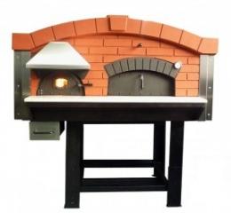 Дровяная печь для пиццы с изолированной камерой горения D140V
