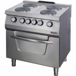 Плита электрическая с духовкой OSOEF 8070