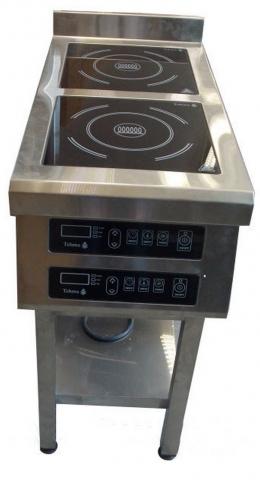 Плита индукционная 2-х конфорочная 900/3,5 кВт напольная